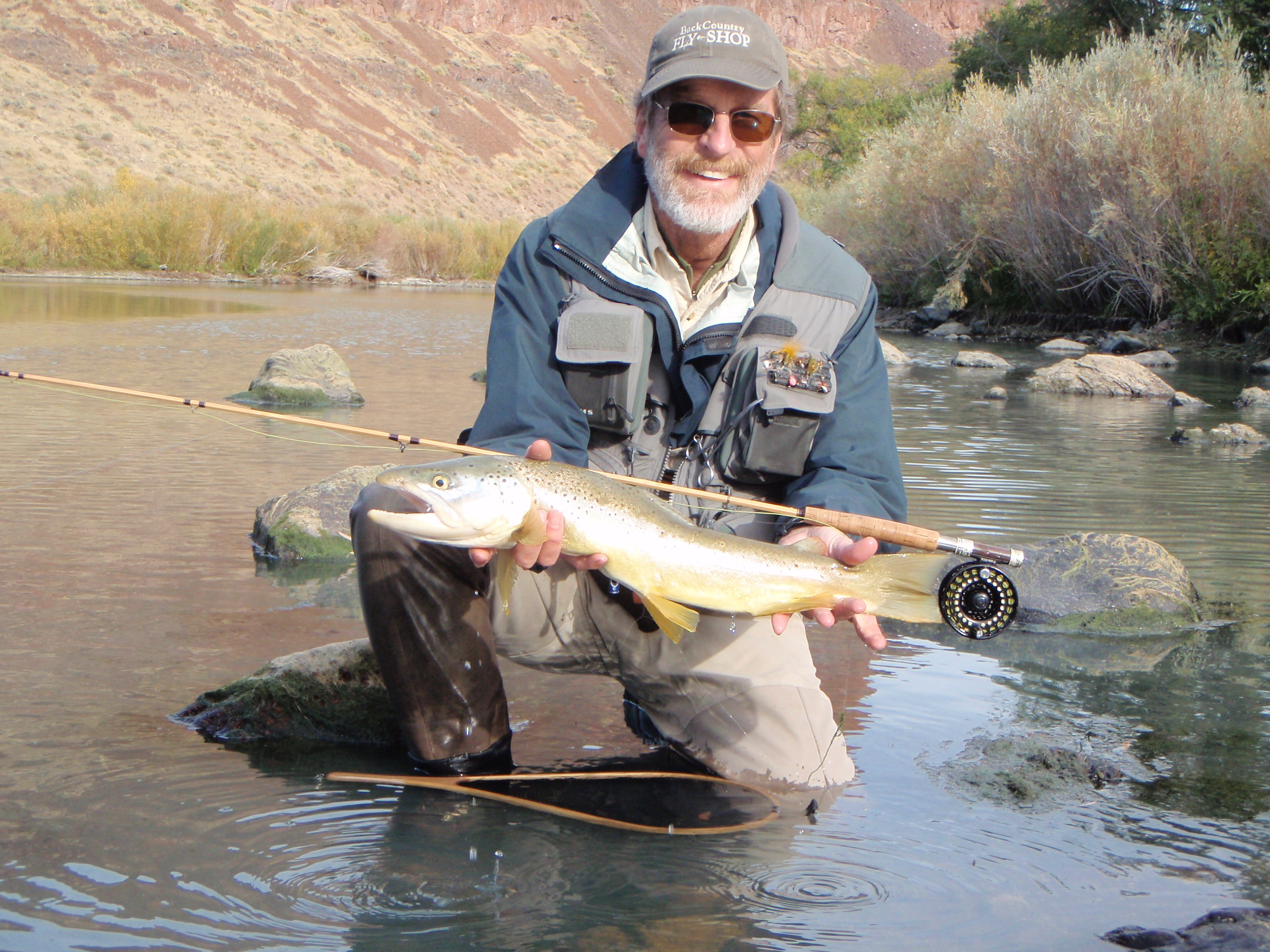 Fishing bamboo fly rods on the owyhee river bamboopursuits for Owyhee river fly fishing