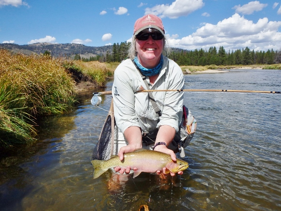 Bamboopursuits custom bamboo fly rods designed and for Fly fishing boise idaho