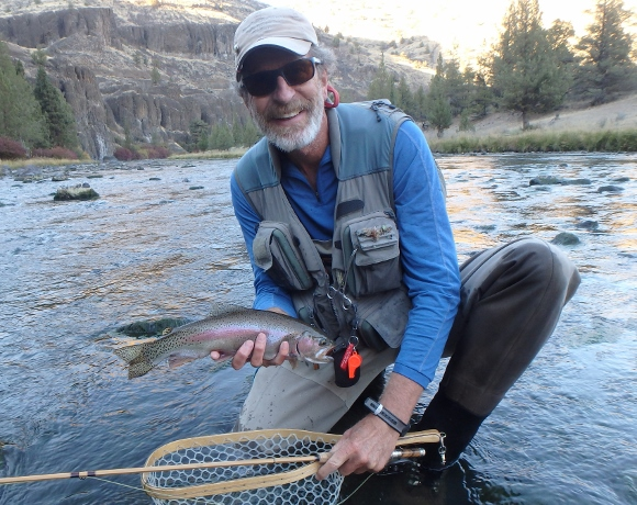 A Crooked River Rainbow