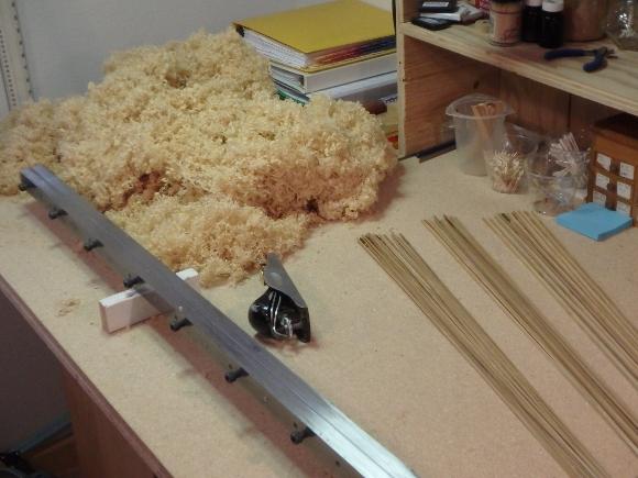 Hand Planing Bamboo