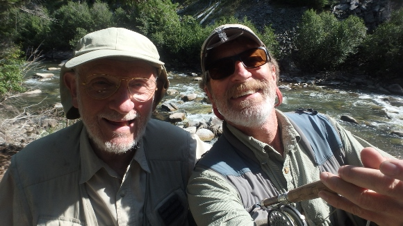 Peter and I getting ready to hit the Yankee Fork.
