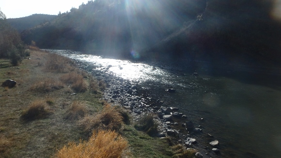 The Crooked River in November